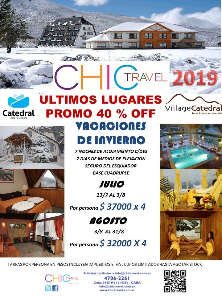 PRE VENTA CERRO CATEDRAL - 40 %  OFF  VILLAGE CATEDRAL